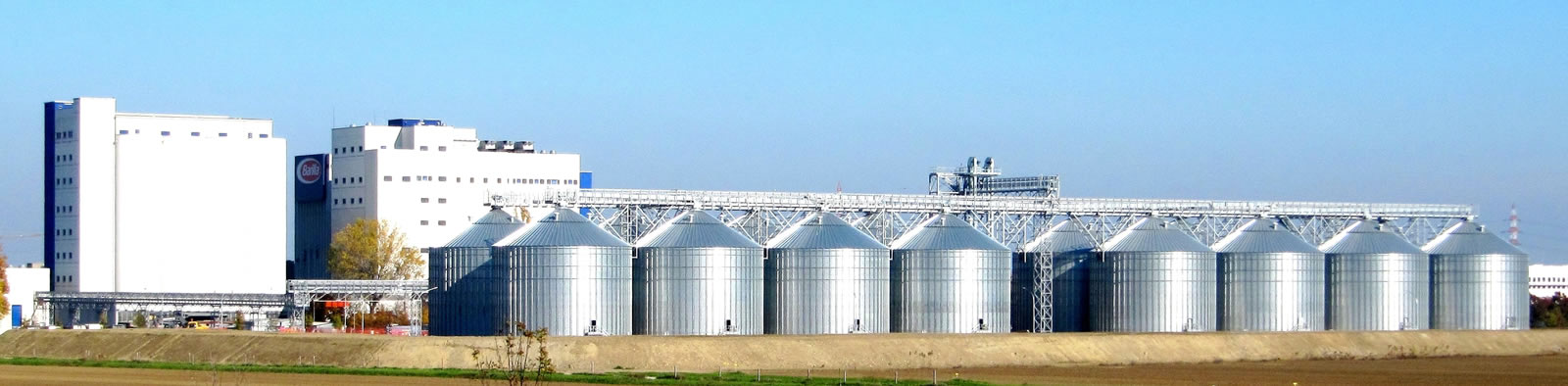 Barilla nuovi silos in Pedrignano PR